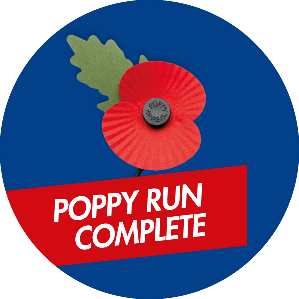 Poppy run complete