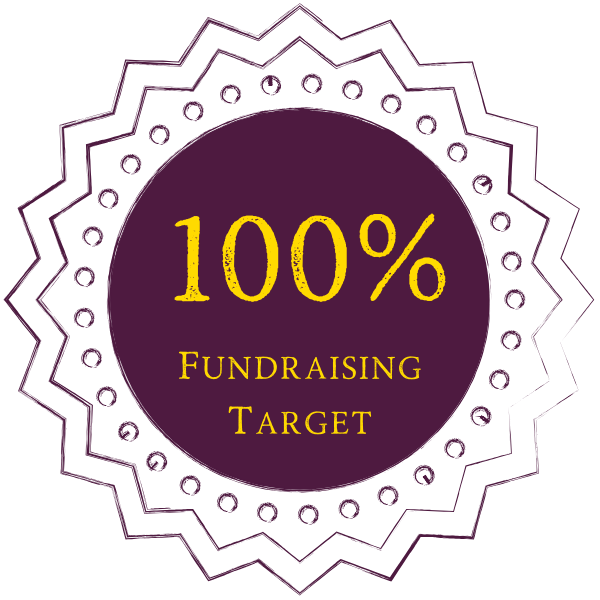 100% of your fundraising goal