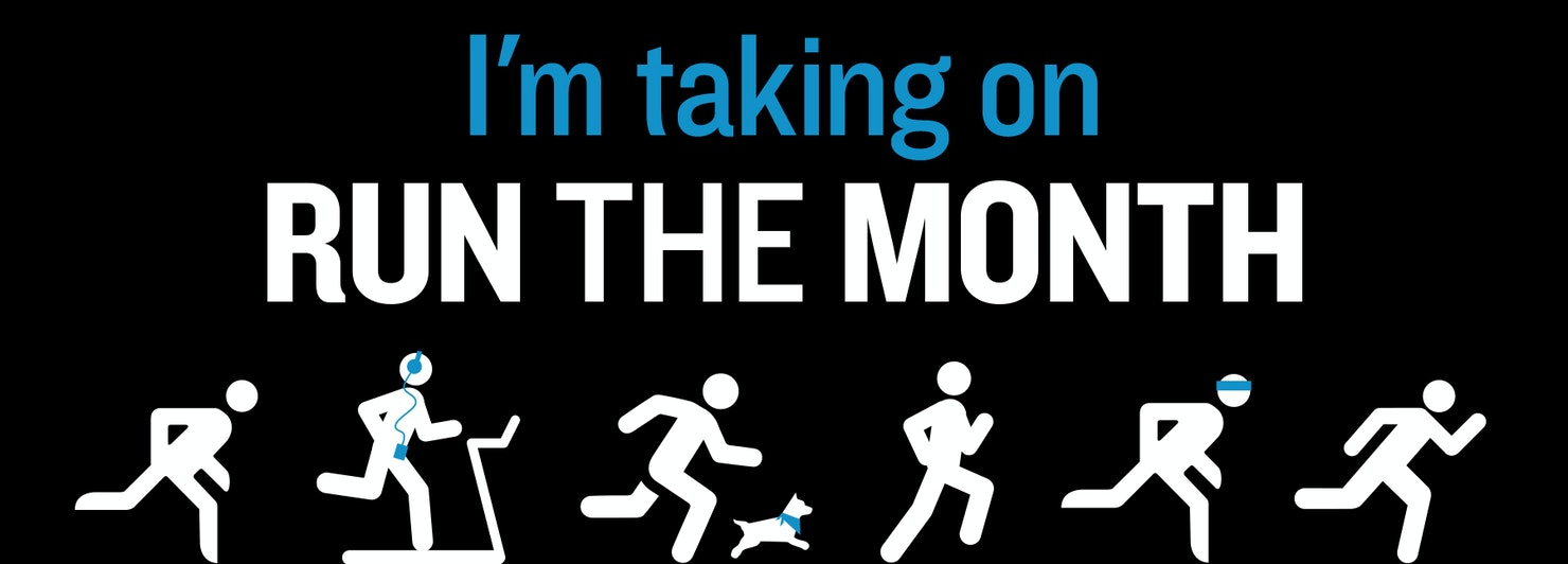 Im taking on Run the Month banner