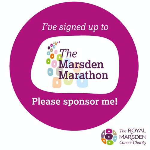 I signed up to the Marsden Marathon social badge