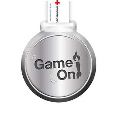 The Game On medal