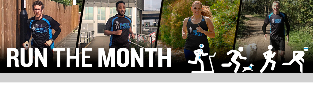Run the Month banner