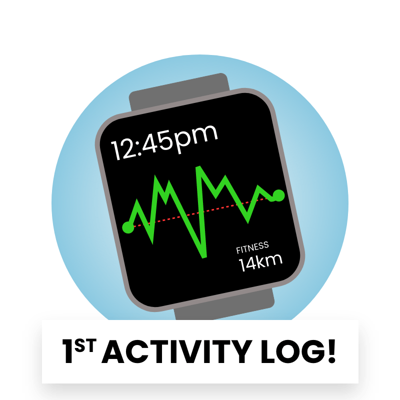 Reward Badge - First Fitness Activity Logged