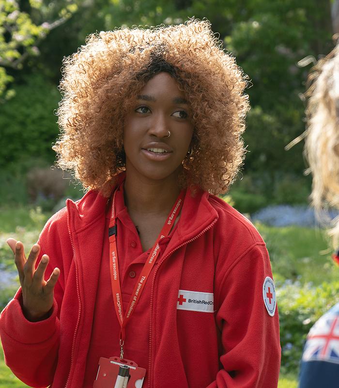 Red Cross Worker
