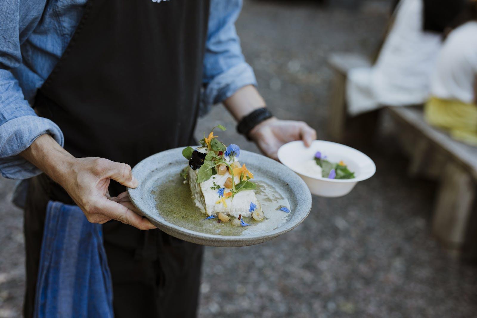 Vacker och god mat serveras på Spiseriet.