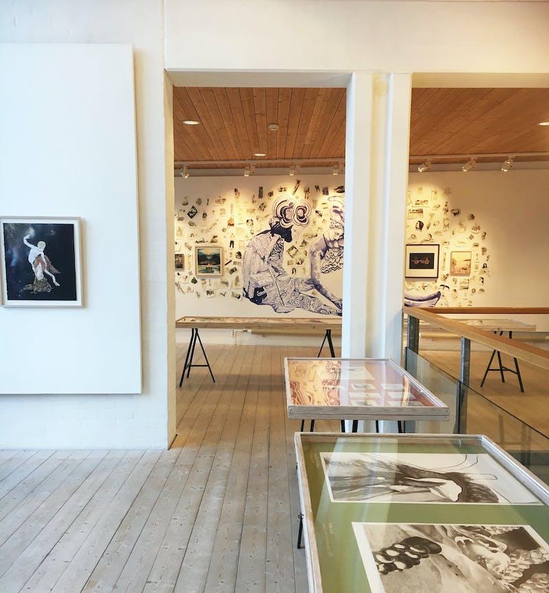 Utställning med Love Lundell på Teckningsmuseet i Laholm.