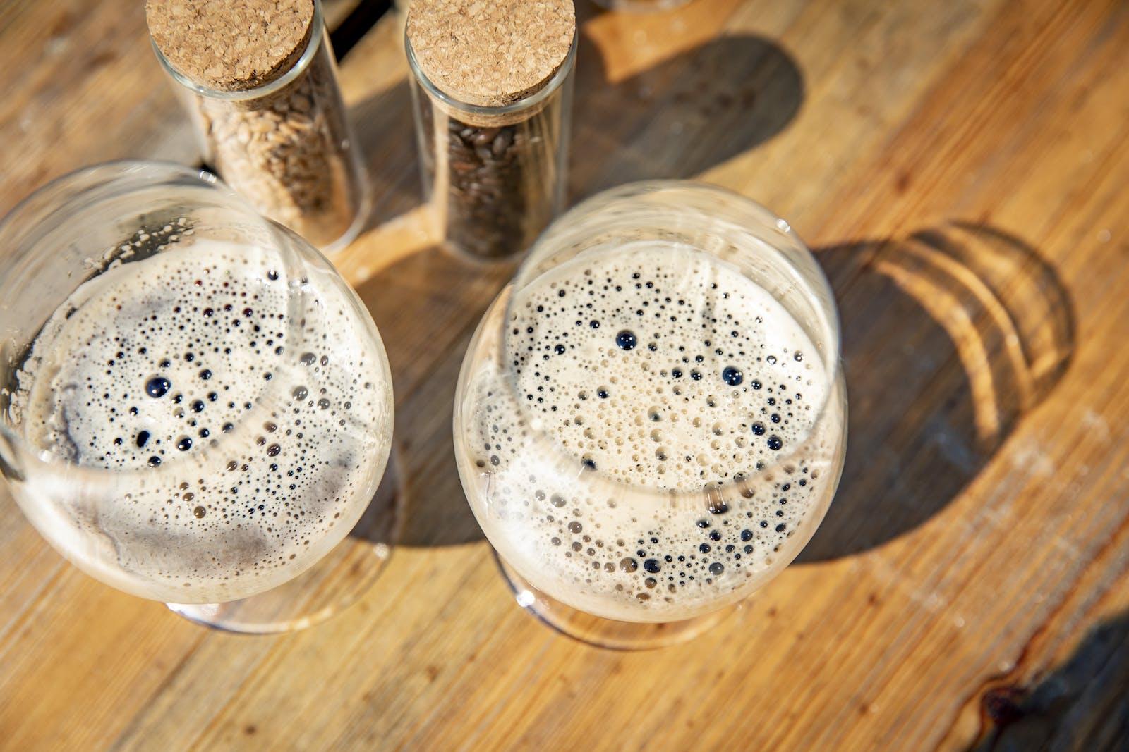 Lokalproducerad dryck i Halland