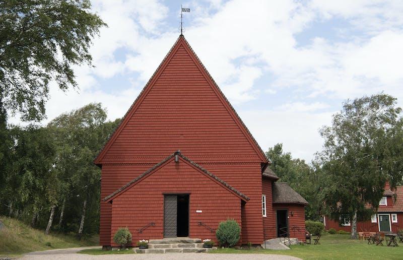 St Olofs är ett vackert kapell precis vid Tylösand.