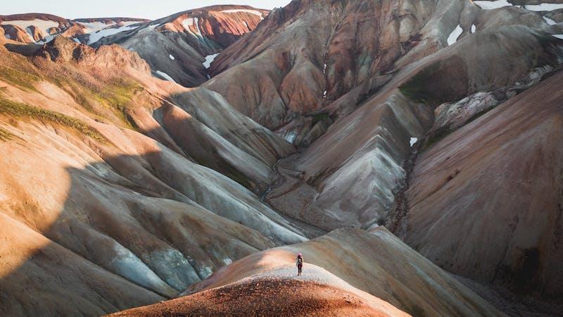 Landmannalaugar hiking trail