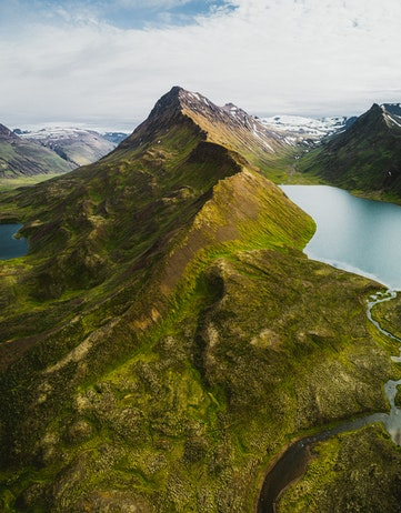 Mountains in Iceland