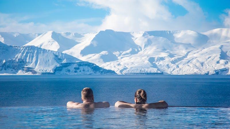 Geosea baths in Húsavík