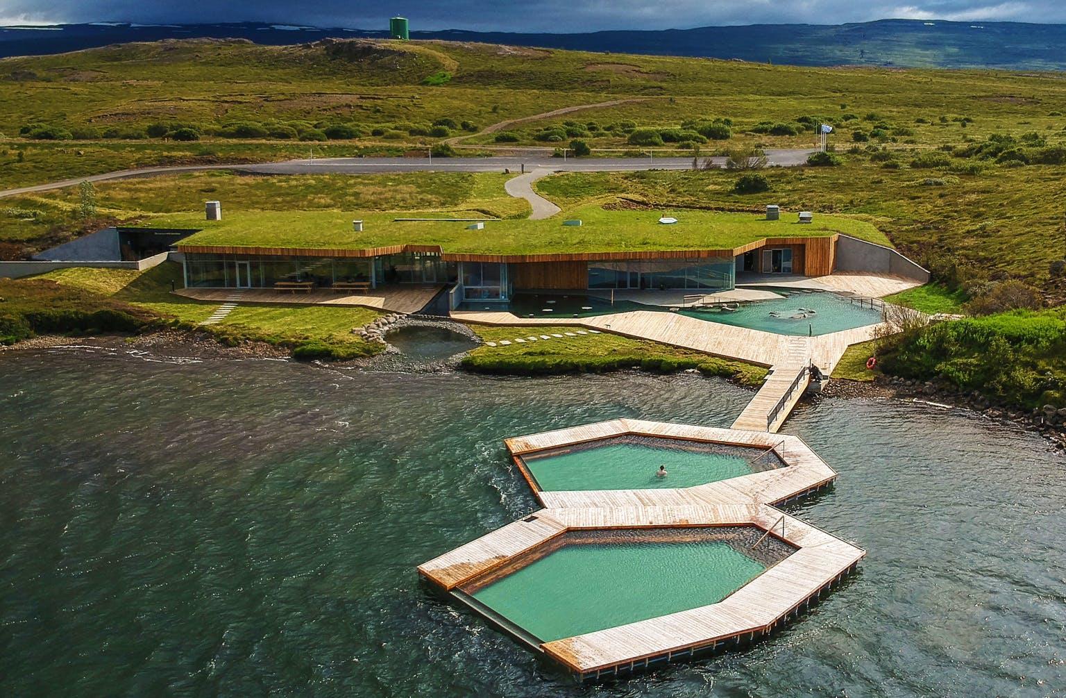 Vok baths in East Iceland