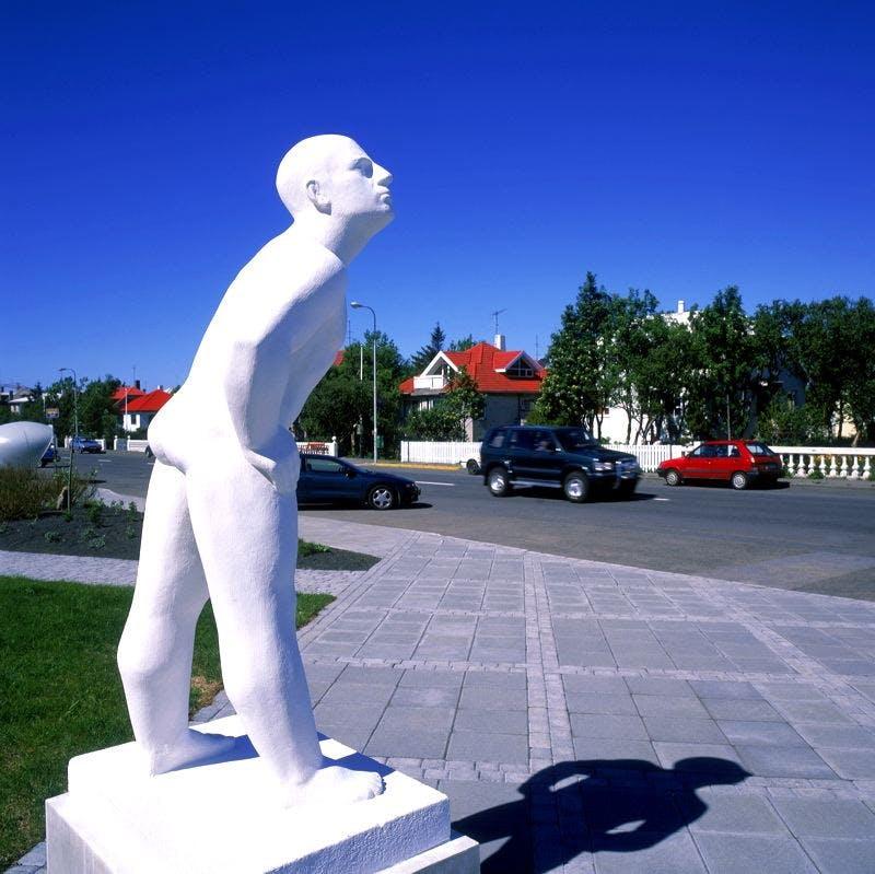 Sculpture at Asmundasafn