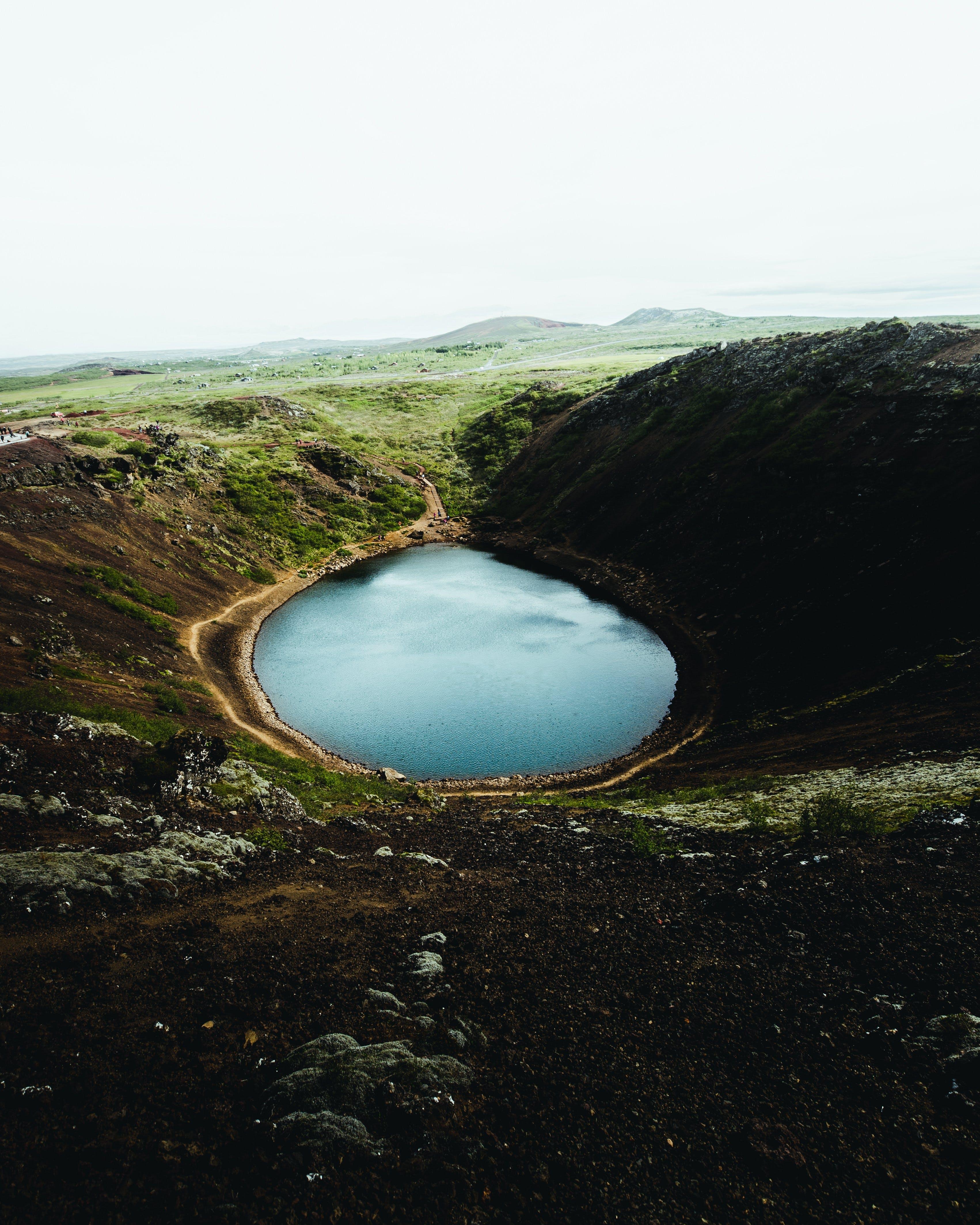 Volcanic Crater Kerið