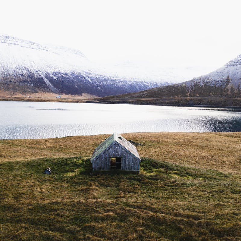 Abandoned farm in the Westfjords