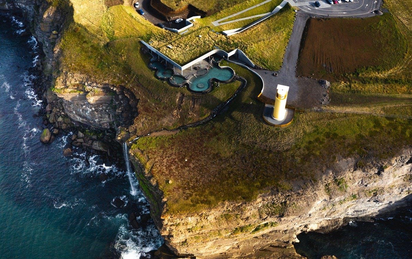 Geosea baths in North Iceland