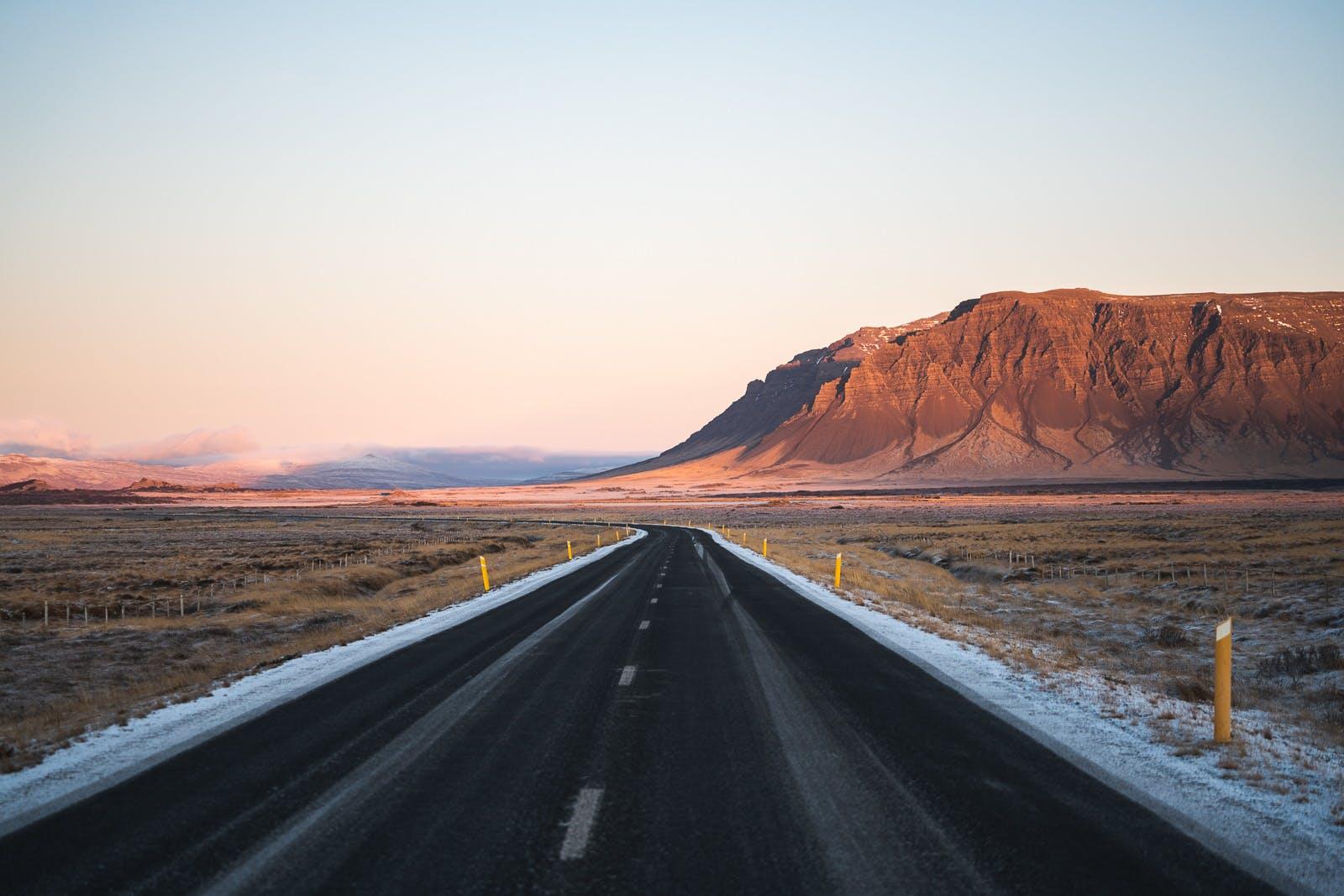 Road in Snaefellsnes