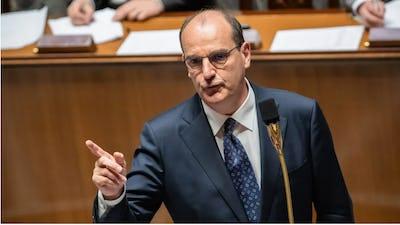 Le Premier ministre Jean Castex à l'Assemblée nationale, le 8 juillet 2020.