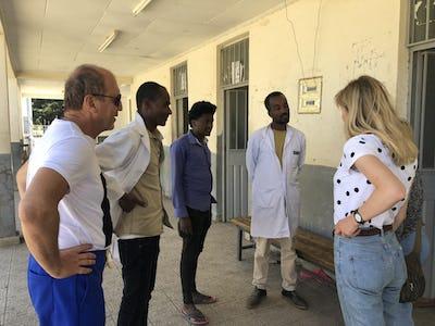 Un centre médical rural dans la région d'Oromia, Ethiopie, octobre 2018.