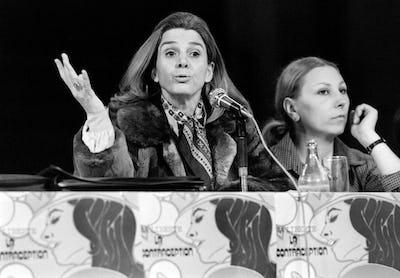 Gisèle Halimi, en 1978.  — © JEAN-CLAUDE DELMAS/AFP