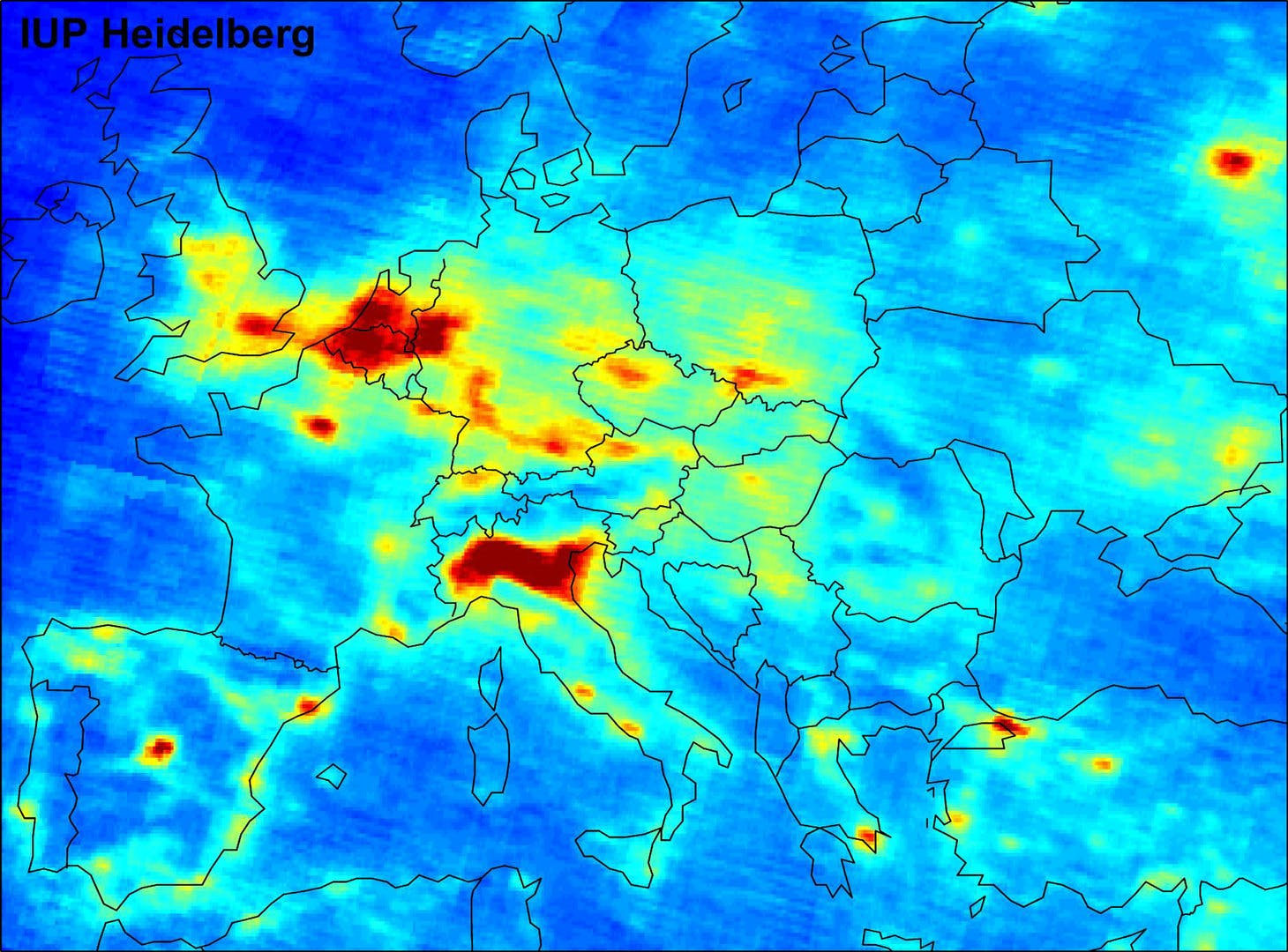 Po valley, the worst area in Europe for air quality