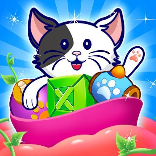 Kitty Cat: Hungry Cat Feeding