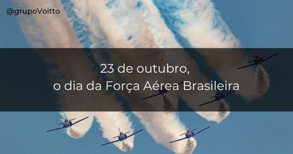 dia da força aerea brasileira