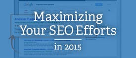 Maximizing Your SEO Efforts in 2015 thumbnail