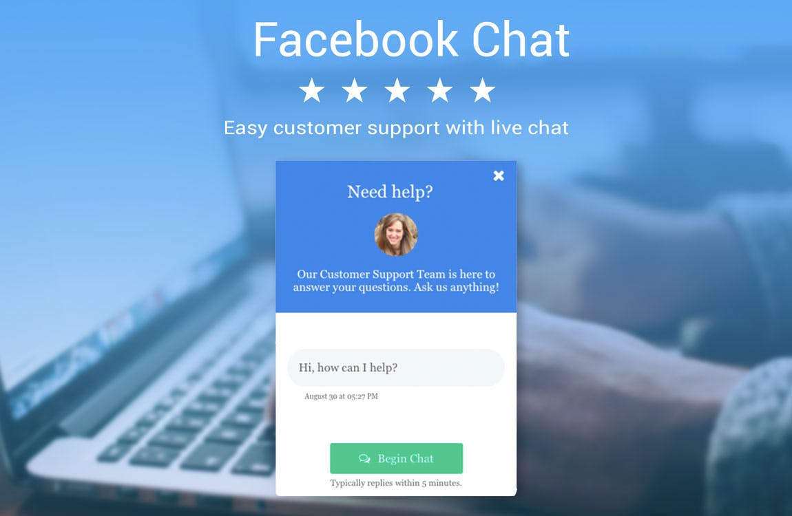 Facebook Chat by Powr screenshot