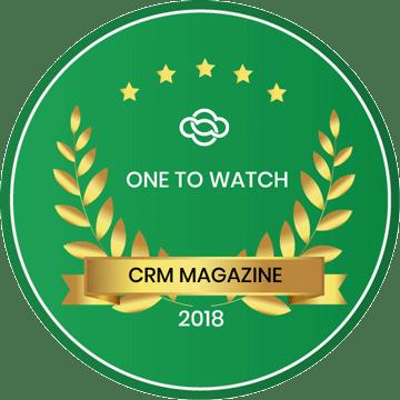 crm magazine award