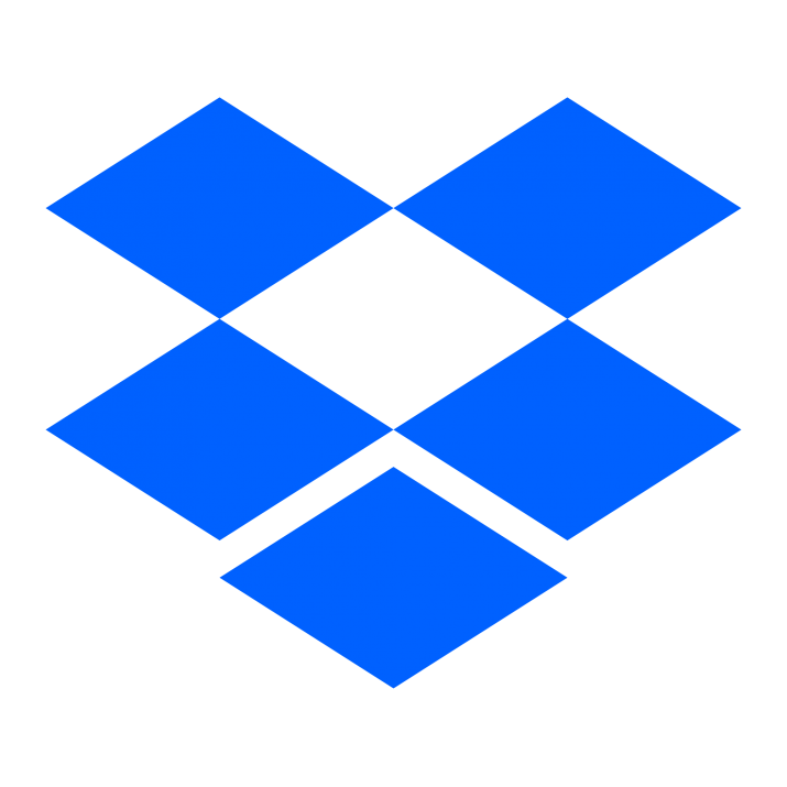 logo van dropbox