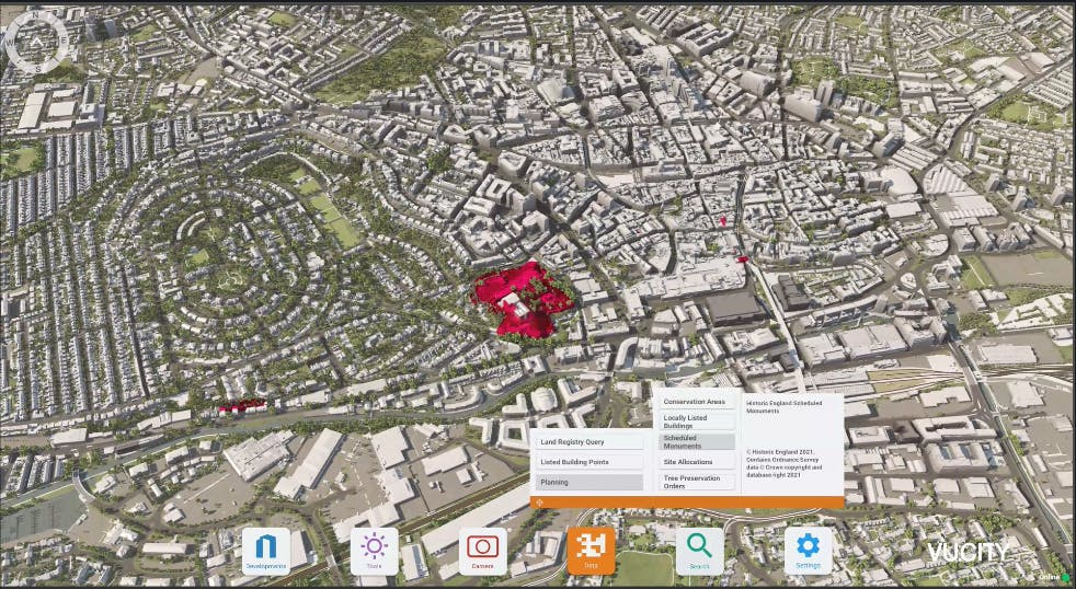 Nottingham Scheduled Monuments
