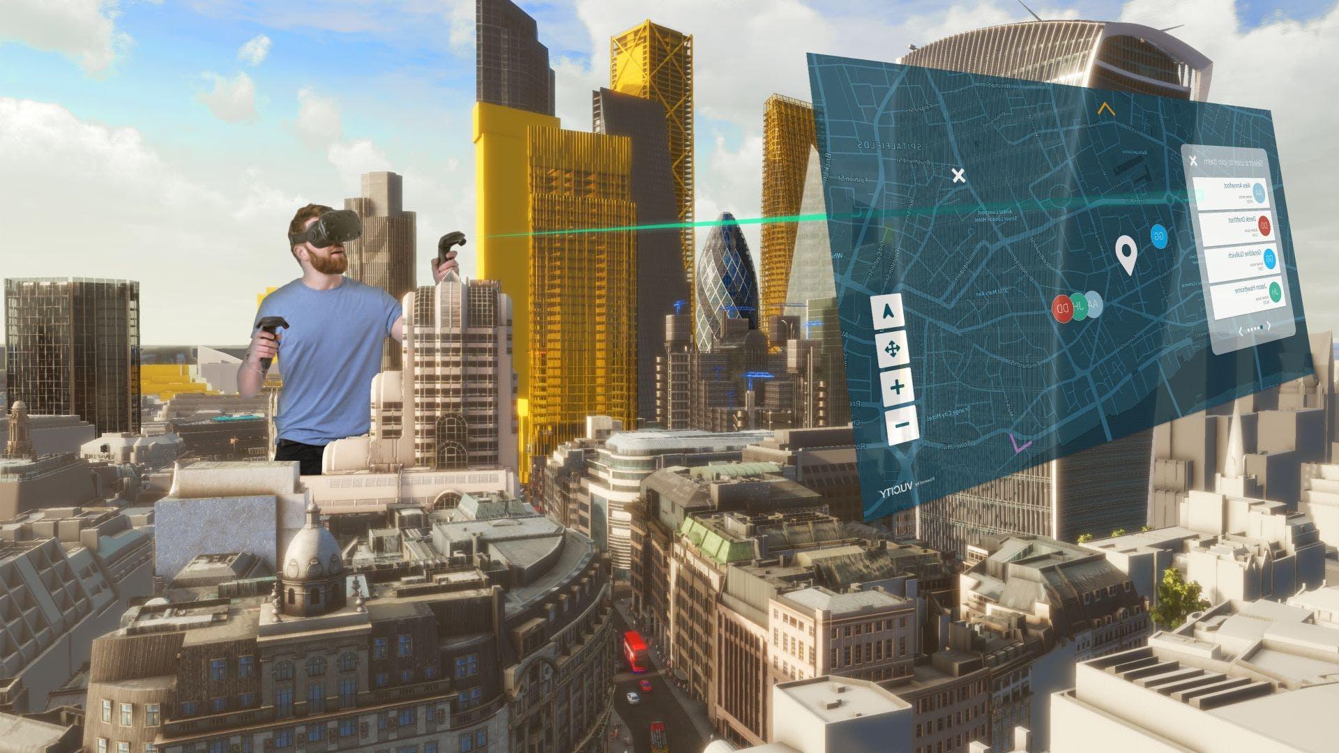 virtual reality london