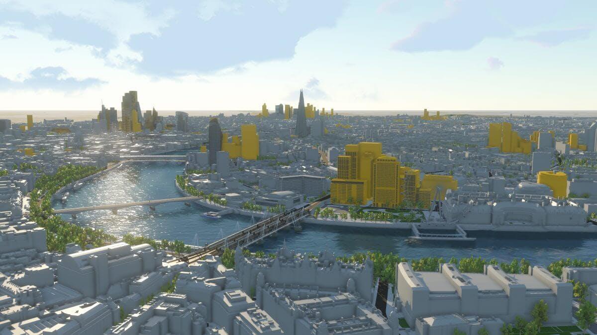 Largest digital model of London