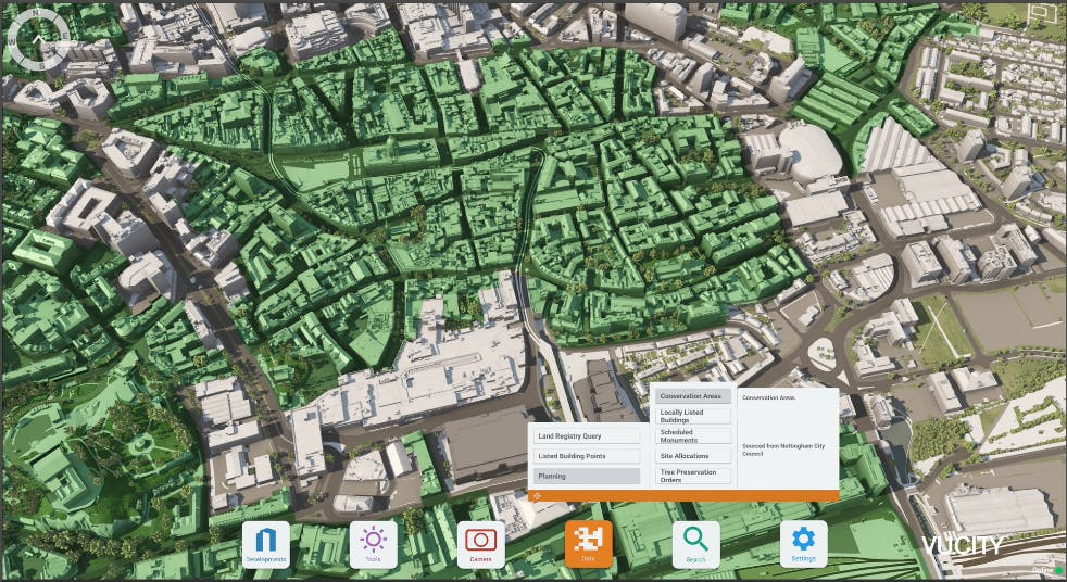 Nottingham Conservation Areas