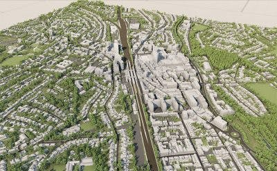 VU.CITY Woking Model LOD3