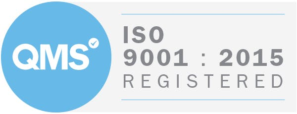 ISO 9001 2015 Badge