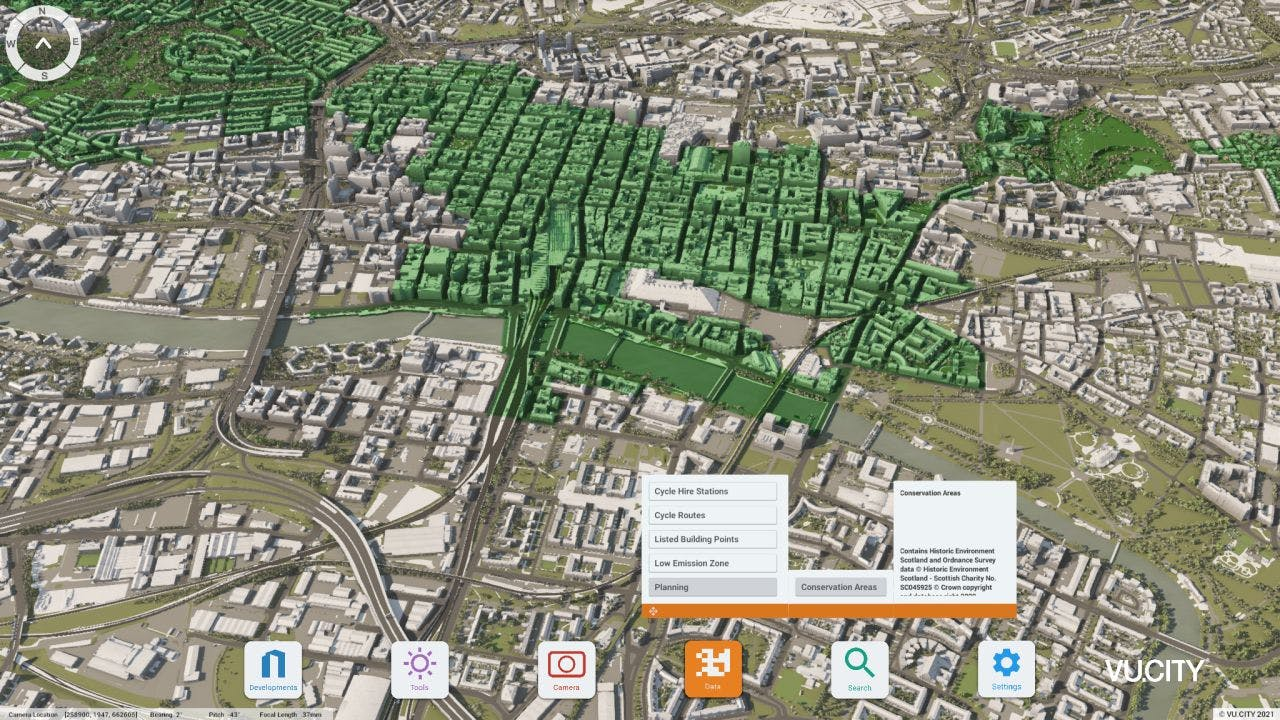 Glasgow Conservation Areas