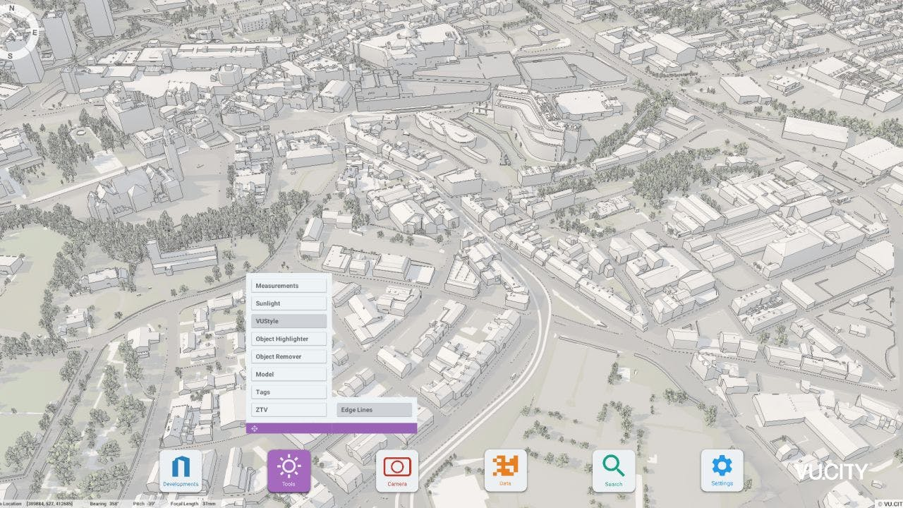 Use accurate edge lines in early feasibility & design to help you understand & communicate the story of the site.