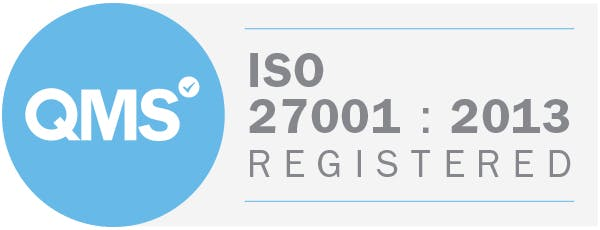 ISO 27001 2013 Badge
