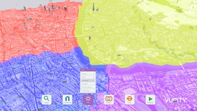 Overlay historic buildings, borough boundary and GIS data