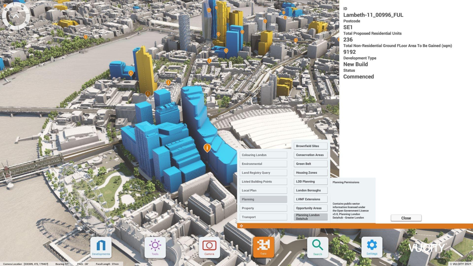 planning data hub