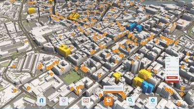 Overlay historic building data