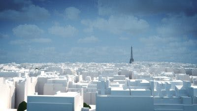 LOD3 model VU.CITY Paris