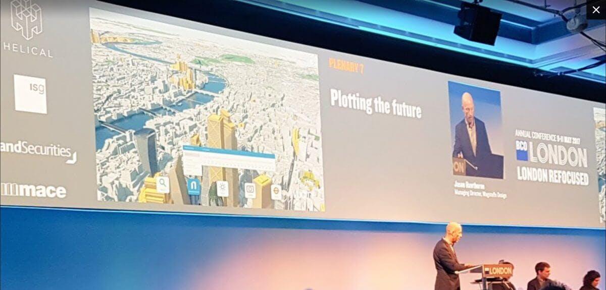 VU.CITY shows the future at BCO 2017