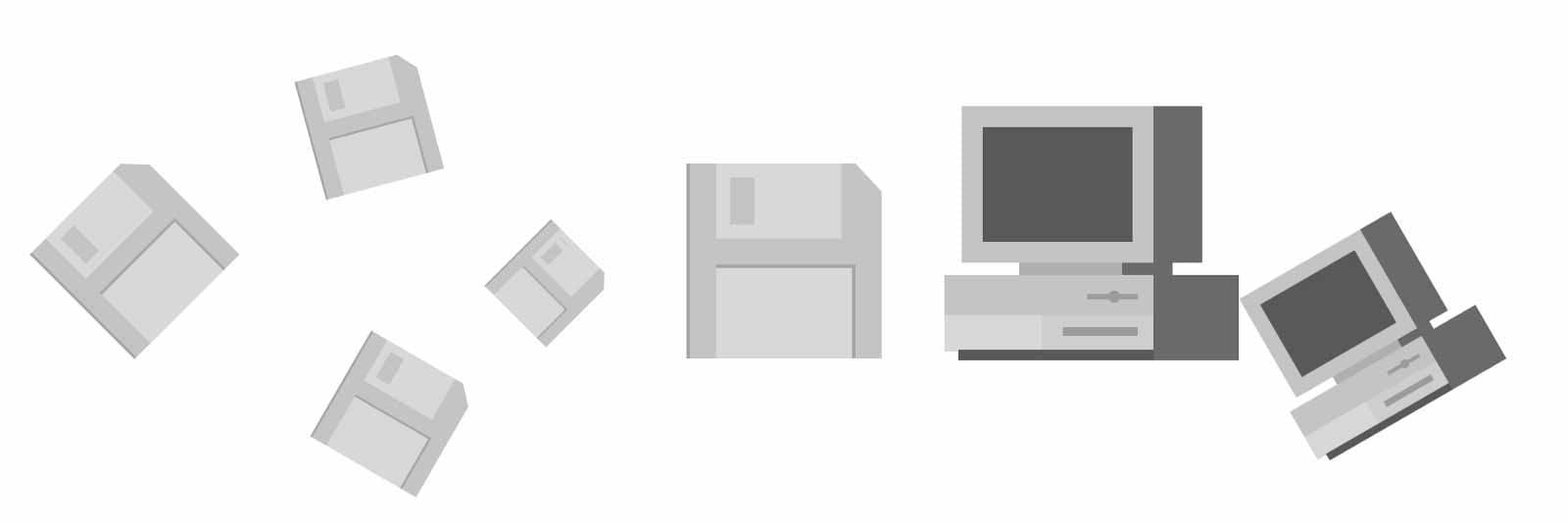 Illustration: Old hardware, using old app design