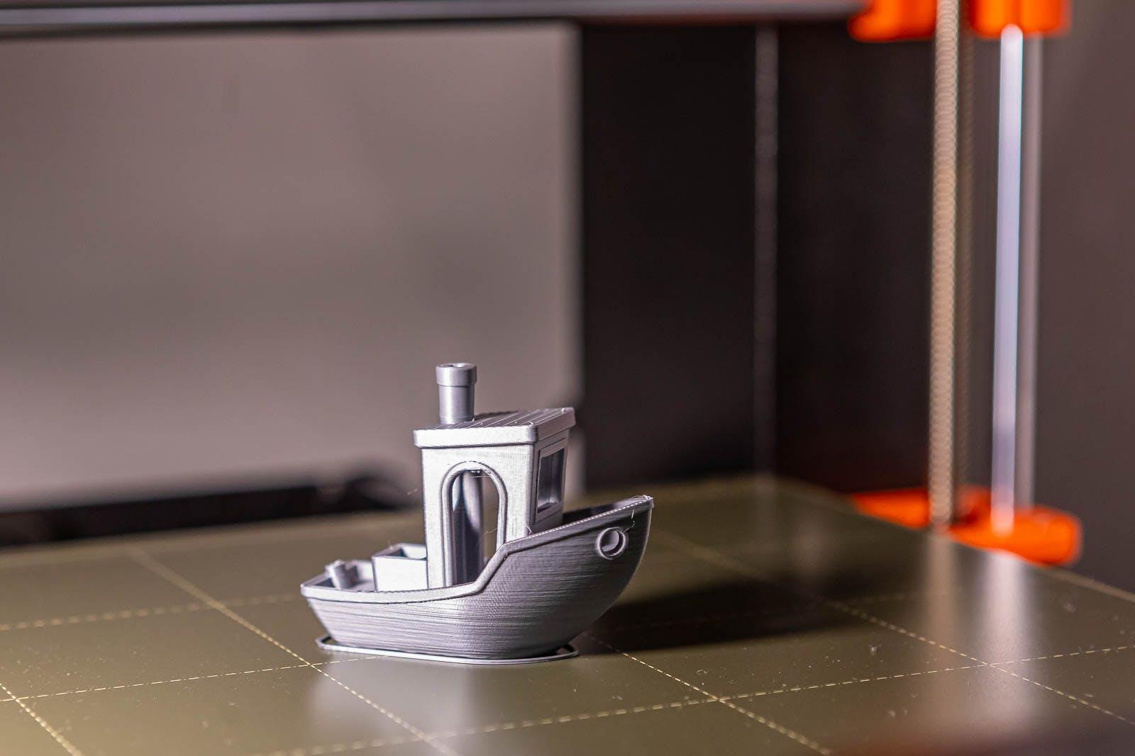 Testovací výtisk z naší 3D tiskárny PRUSA I3 MK3S+