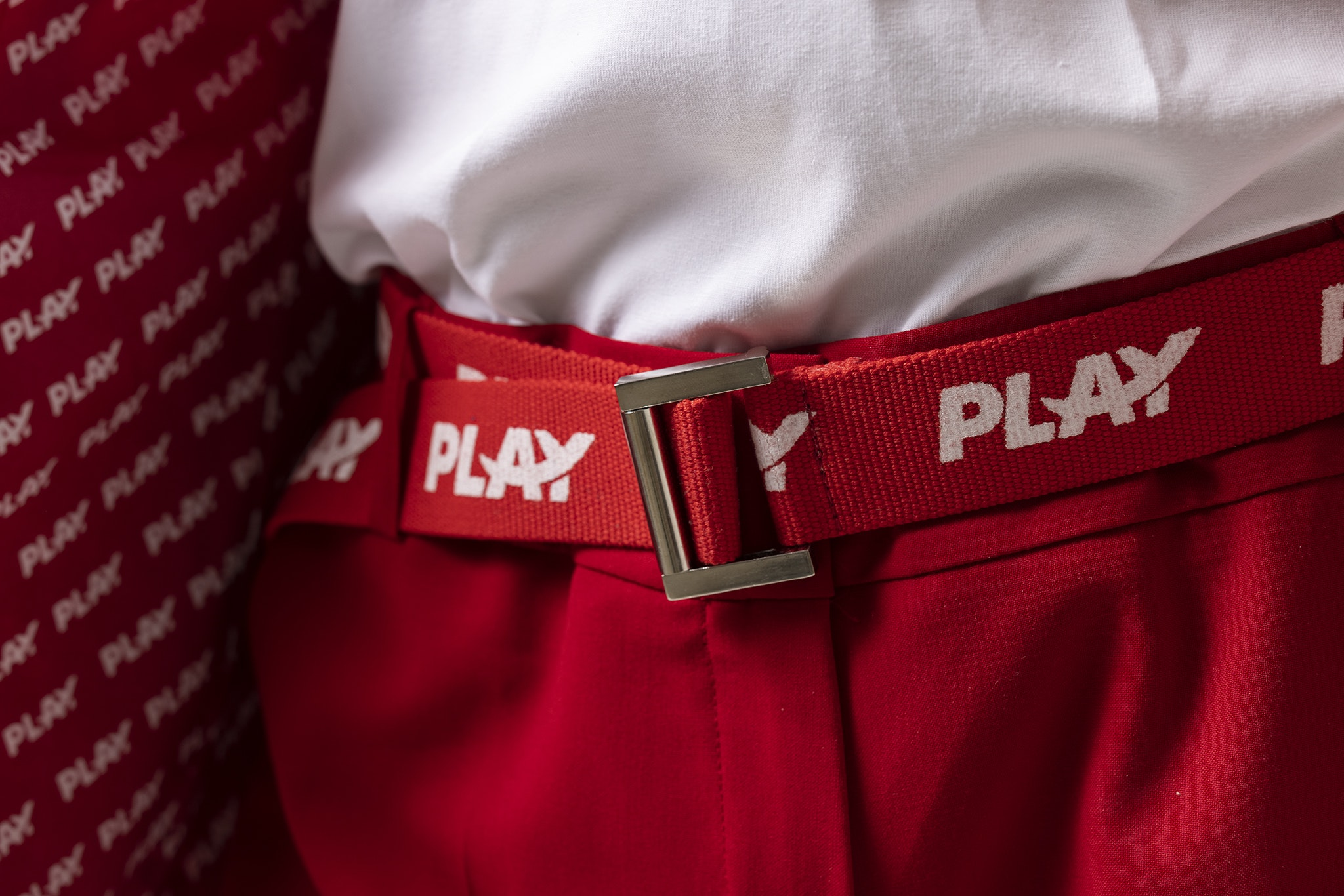 PLAY crew uniforms
