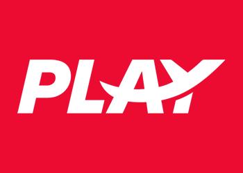 PLAY logo media center white