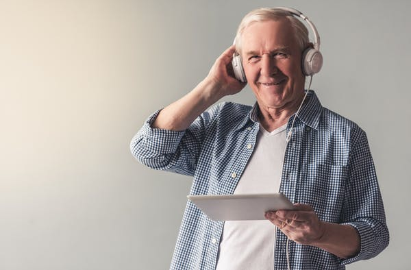 Luisterboeken in de zorg